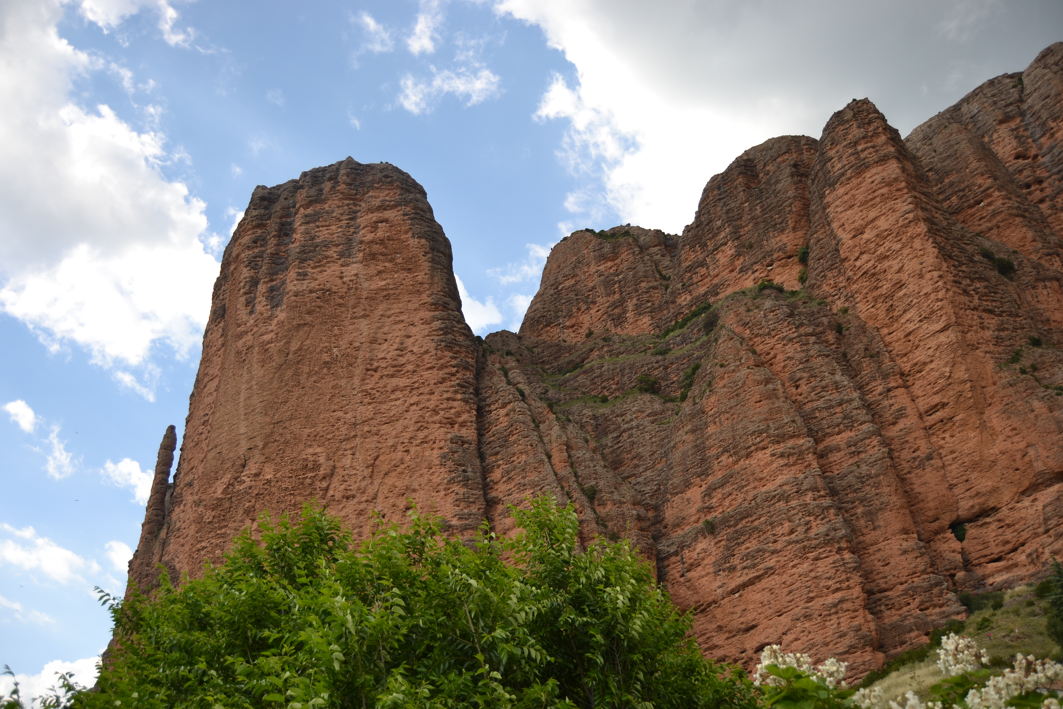 Riglos contrapicado