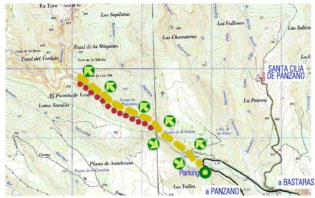 map barranco formiga