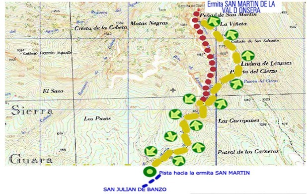map barranco san martin